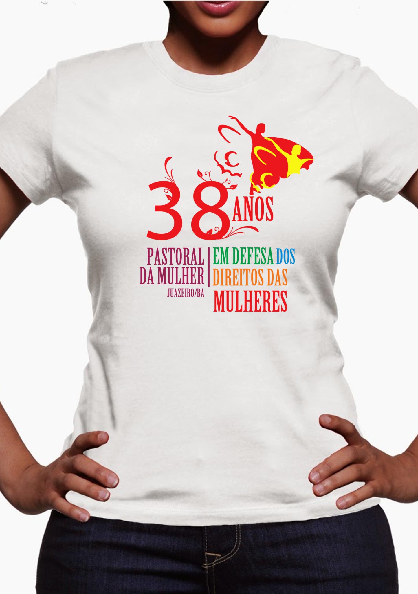 camiseta 38 anos PMJ